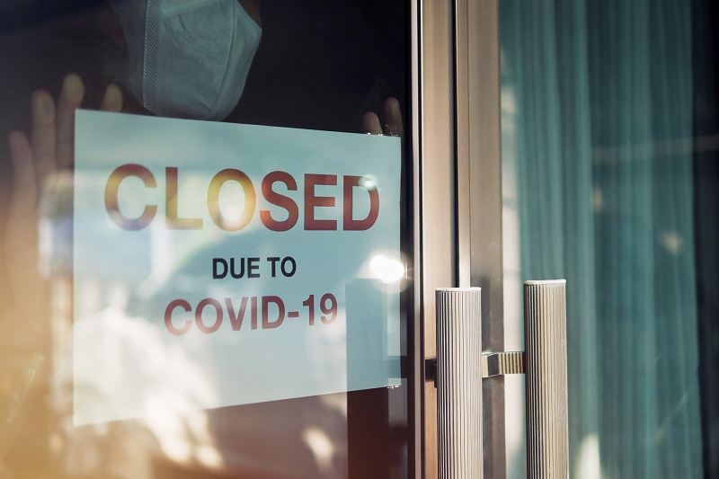shop closed due to covid-19